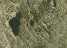 Lago Mandrone dal satellite